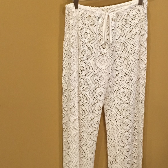 308f1820c0f86 BECCA Other - BECCA Crochet Cover-Up Pants